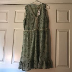 NWT Medallion Lacy Flare dress